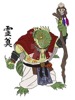 village headman - Tuatara by abarewanko