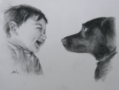 A Boy and His Dog by DubyaScott