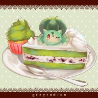 Pocket Dolce 3 - Bulbasaur by GreyRadian