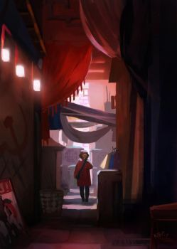Alley by KEPZONE