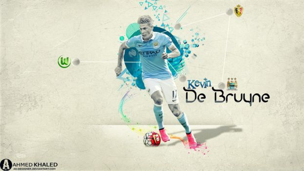 Kevin De Bruyne wallpaper 2016 by AK-DESIGNER