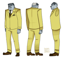 Reference Sheet: Bluebeard by A-Fox-Of-Fiction