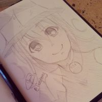 Blair (SoulEater Fanart Sketch) by NauticaWilliams