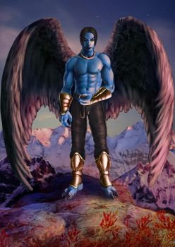 Raziel the Ancient by Morgalahan