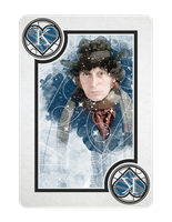 4th Doctor Who King of Hearts by TMC-INK