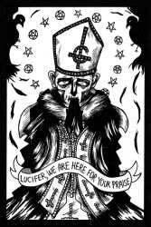 Papa Emeritus I by KendraJK