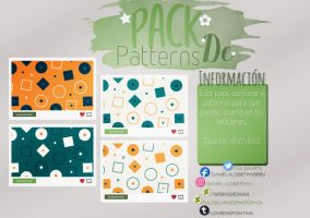 ~.Pack de Patterns #7 by ISirensDesigns