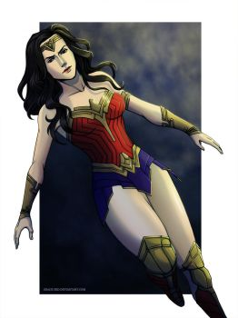 Art Prize - Wonder Woman by Grace-Zed