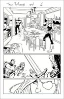 Teen Titans, Sample Art, Page 2 by Hominids