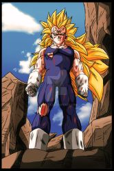 DB BoT Color Page by Gothax