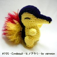 Cyndaquil Pokemon Amigurumi Plush