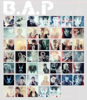 B.A.P power MV icon pack 47 by e11ie
