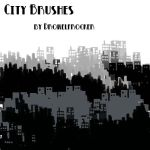 City Brushes by QueenCordite