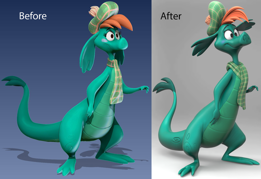 Nessie Sculpture Redo by Lemurfeature