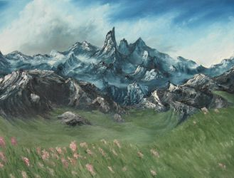 Mountains Beyond by crazycolleeny