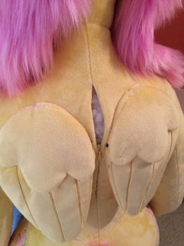 Easy restuffing zipper by qtpony
