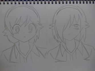 The world god only knows - Ayumi and Mercury by Aklin-X