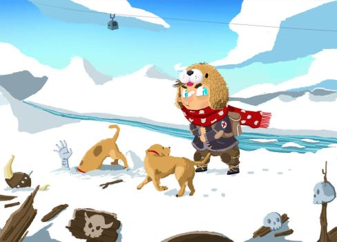 Treasure in the Snow by Bicss
