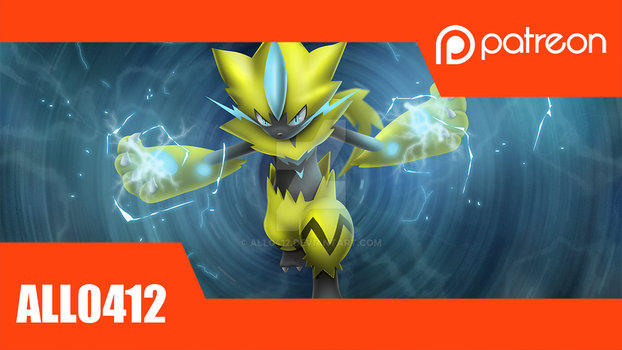 Patreon: Zeraora by All0412