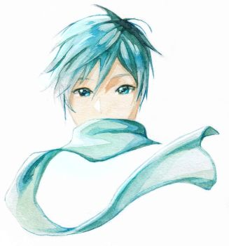 Limited Pallete Watercolours - KAITO by My-Magic-Dream
