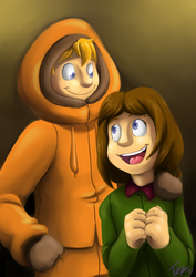 SP: Kenny and Karen by forte-girl7