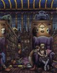 The Library In Color by Benjamin-the-Fox