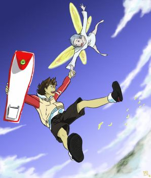 Eureka 7 - Come Fly With Me by MatsuRD