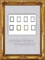 Antique Frames Pack II - Rec. by MadameM-stock