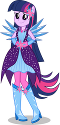 [Request] Princess Twilight Pony-Up by LimeDazzle