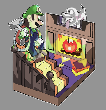 Luigi's Mansion 2 by AlSanya