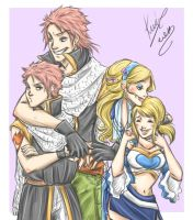 NaLu - Now and Then by sarumanka