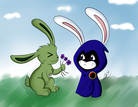 BBRae as bunnies by kuki4982