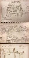 Moar vehicle doodles by Minionwolf711