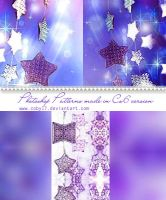 Elegant Stars Patterns by Coby17