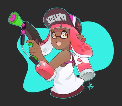 Splatoon2 by Louistrations