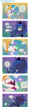 Two Best Sisters by Foxy-Noxy