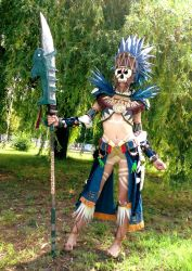 Guild Wars - Tribal armour by Nyima-chan