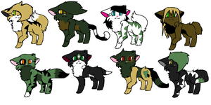 Secret Kittens REVEALED by MoBAdopts