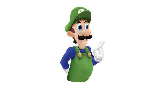 Super Luigi Bros. Super Show Smashified RENDER by MarxallyHD