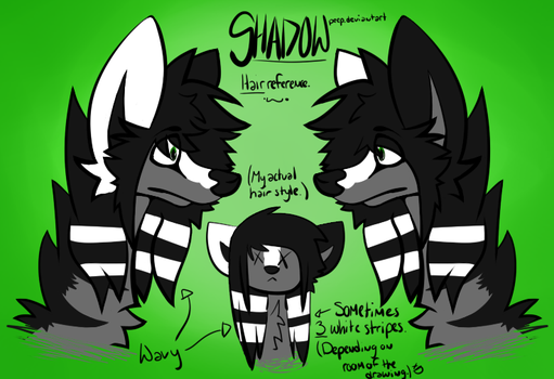 Shadow HAIR Reference (Use if needed?) by ShadowPeep