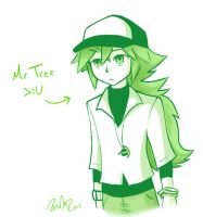 Mr. Tree colored by firehorse6