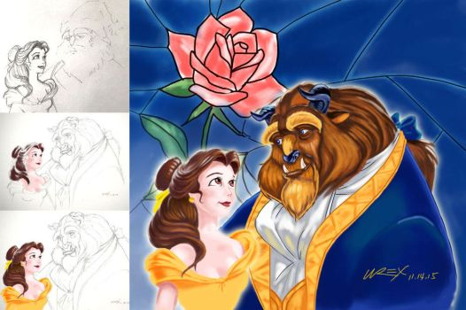Beauty and the Beast by wrexjapan