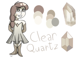 Clear Quartz by DrekiSaga