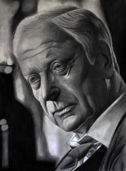 Michael Caine Alfred Pennyworth by donchild