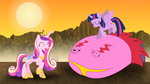 [MLP FiM] The Worm Taming Sister-In-Laws by DashieMLPFiM