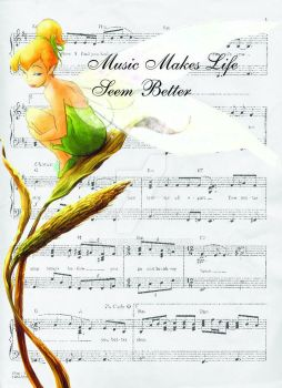 Tinkerbell music by Galya85