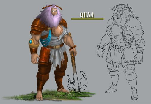 QUAA - MOUNTAIN WARRIOR by vicky3