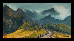 Speed Painting 08 by lincochuan