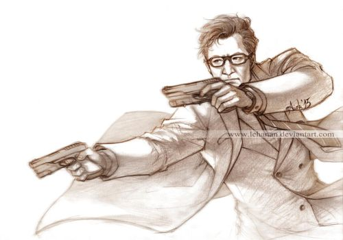 Kingsman - Manners MAKETH man - Galahad/Harry by Lehanan