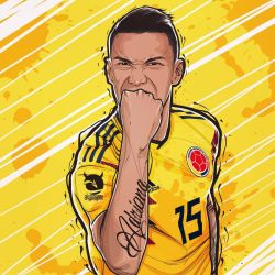 Matheus Uribe Colombia Seleccion by akyanyme